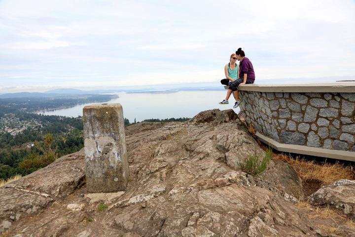 Mount Douglas Summit