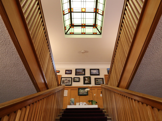 Pendray House: Central Stairway