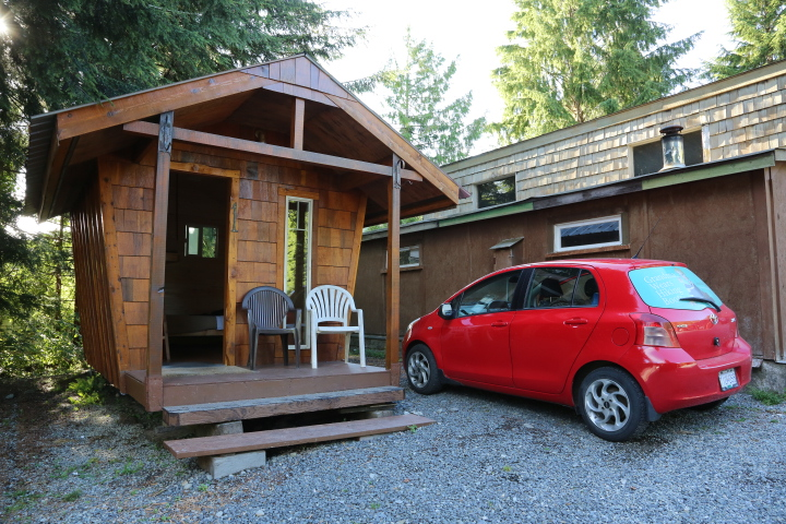 Port Renfrew: Trail Cabin