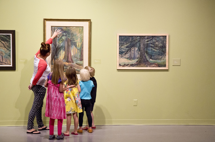 Greater Victoria Art Gallery - Emily Carr Exhibition