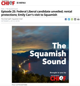 2019-09-06 Squamish Chief The Squamish Sound Podcast
