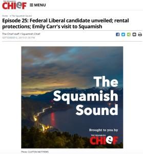2019-09-06 Squamish Chief The Squamish Sound Podcast